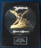 "Whitesnake - Framed 12"" Picture Disc - Saints and Sinners"